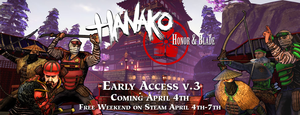 Early Access v.3 Releasing April 4th: Free Weekend + Special Promotion on Steam